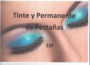 Tinte y permanente pestañas